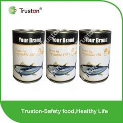 Canned Tuna from China